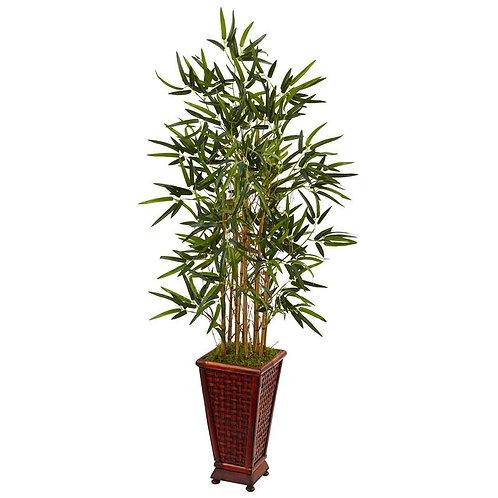 4.5' Bamboo Tree in Decorative Planter