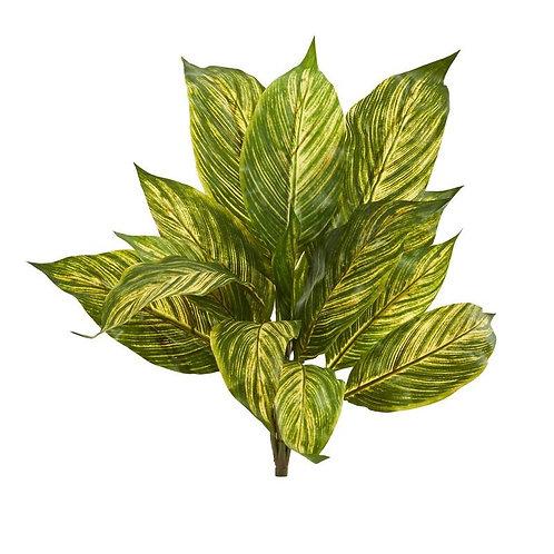 "17""  Musa Leaf Artificial Plant (Set of 12)"