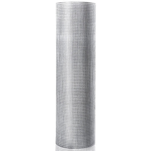 "36"" x 50' 1/2 inch Wire Fence Cage Roll 19 Gauge Galvanized Wire"