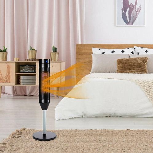 1500W Portable Pedestal Heater w/ Timer Remote Control