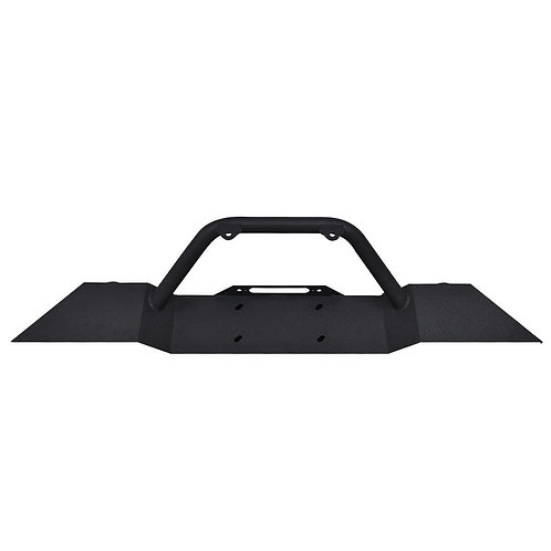 Jeep Wrangler JK Winch Plate Front Bumper w/ LED Lights
