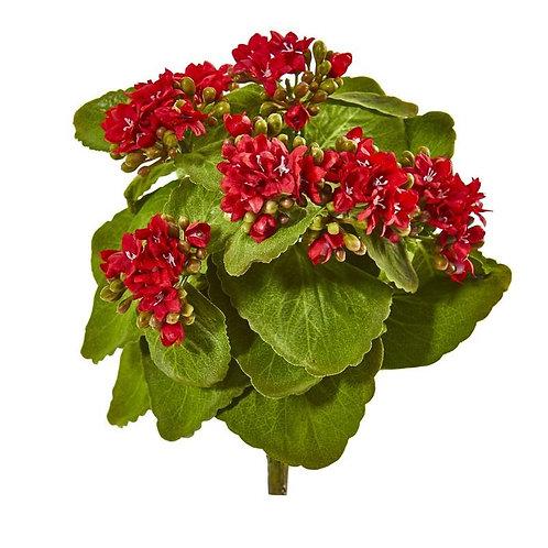 """8""""  Kalanchoe Artificial Bush Flower (Set of 6)"""