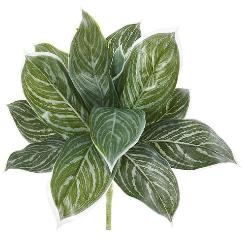 """21""""  Silver Aglonema Artificial Plant (Real Touch) (Set of 6)"""