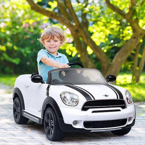 12 V Electric R/C Remote Control Kids Car-White