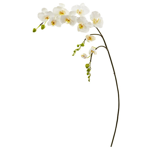"""43"""" Phalaenopsis Orchid Artificial Flower (Set of 6)"""