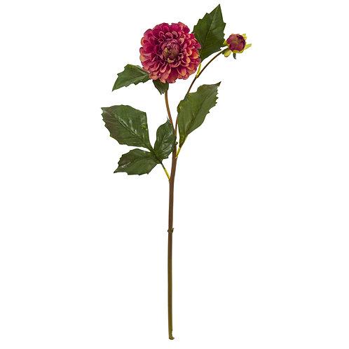 """19"""" Dahlia Artificial Flower (Set of 6)"""