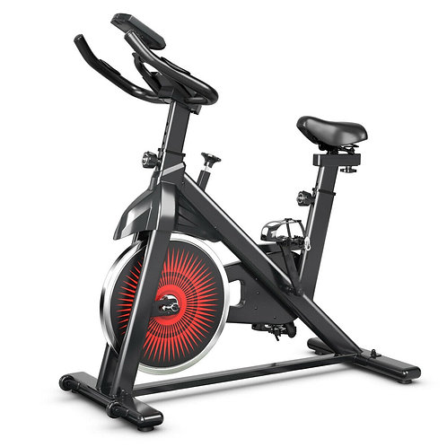 Indoor Silent Belt Drive Adjustable Resistance Cycling Stationary Bike
