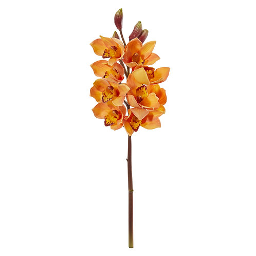 "20"" Cymbidium Orchid Artificial Flower (Set of 4)"