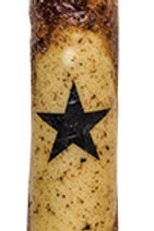 "6"" Burnt Mustard Star Timer Taper"