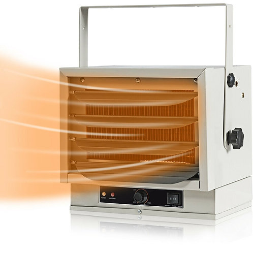 5000 W Hardwired Commercial Heater w/ Dual Knob Controls