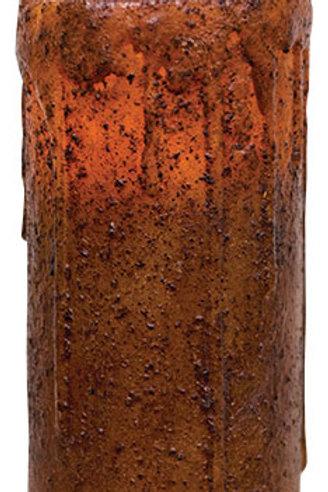 """6"""" Burnt Mustard Remote Pillar"""