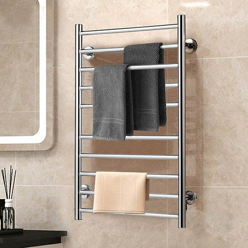 10-bar Electric Stainless Steel Towel Warmer