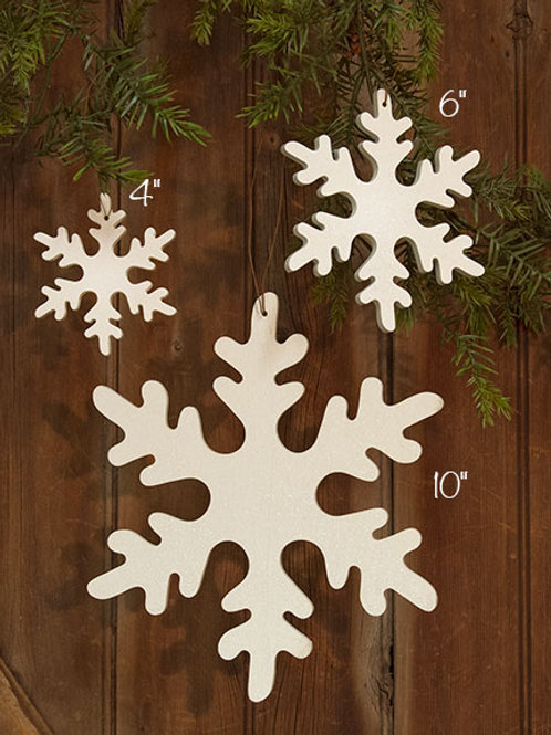 Snowflake Ornament - 4""