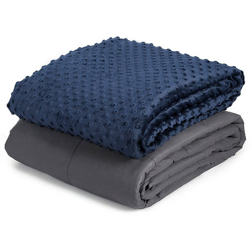 """20 lbs Weighted Blanket Removable Super Soft 60"""" x 80"""""""