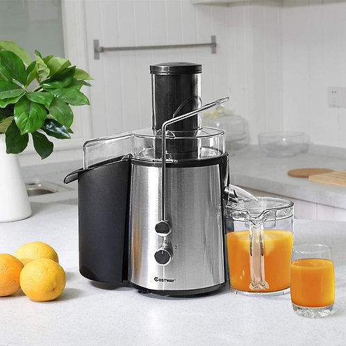 2 Speed Electric Wide Mouth Centrifugal Juice Extractor