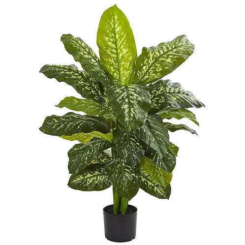 "42""  Dieffenbachia Artificial Plant (Real Touch)"