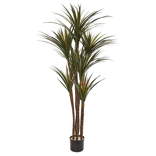 """5.5""""  Giant Yucca Artificial Tree UV Resistant"""