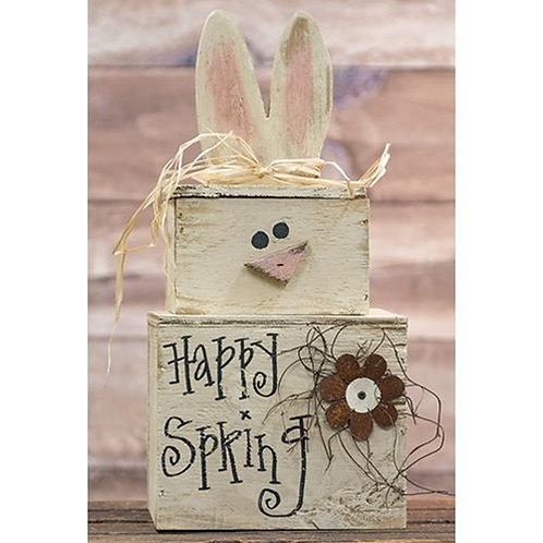 Happy Spring Bunny Stacker