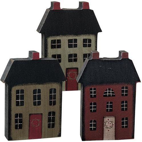 Pack of 4 House Block 3 Asstd.