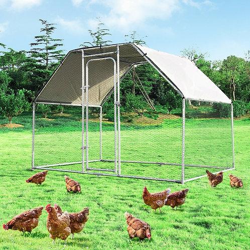 9.5' x 19' Large Walk In Chicken Coop