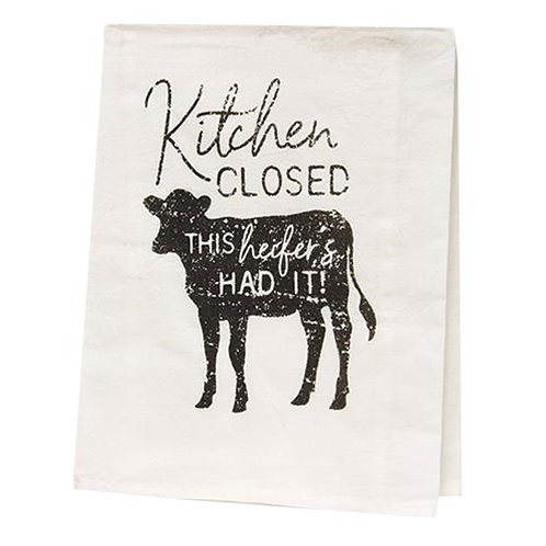 Pack of 2 Kitchen Closed Dish Towel