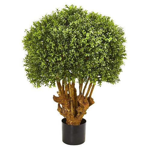 3' Boxwood Artificial Topiary Tree