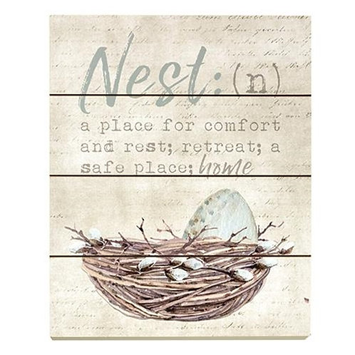 Pack of 2 Nest Definition Wall Art