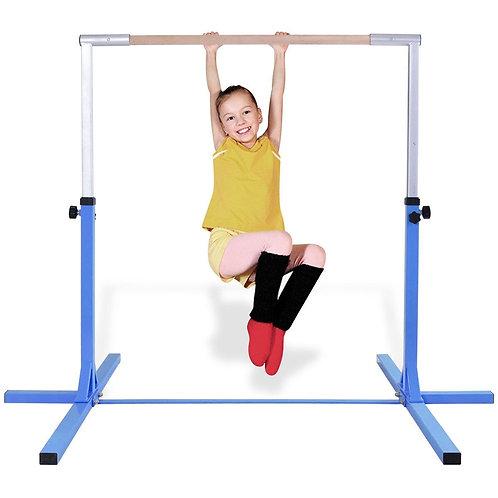 Adjustable Gymnastics Horizontal Bar for Kids-Purple