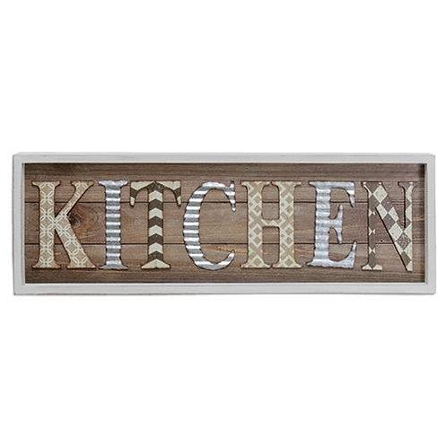 *Kitchen Framed Sign