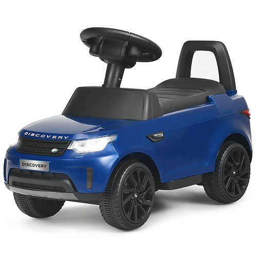 2-in-1 6V Land Rover Licensed Kids Ride On Car-Blue