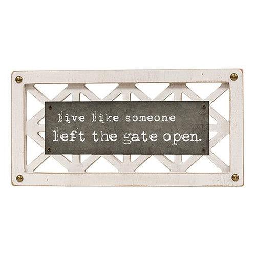 *Simple Life Lattice Sign 2 Asst.