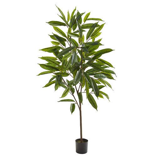 """52"""" Long Leaf Ficus Artificial Plant"""