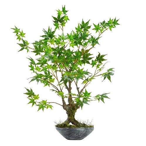 """30""""  Maple Bonsai Artificial Tree in Planter"""