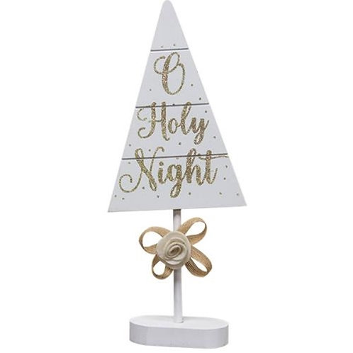 Pack of 2 *O Holy Night Tree