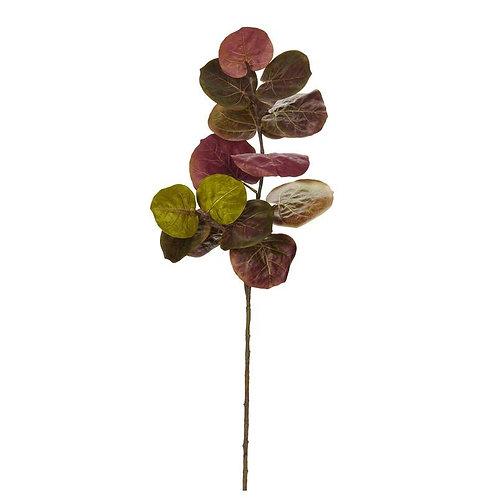 "49""  Sea Grape Artificial Flower (Set of 3)"