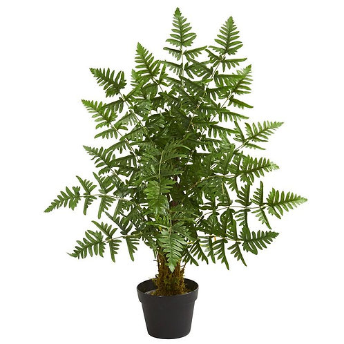 3' Ruffle Fern Artificial Palm Tree