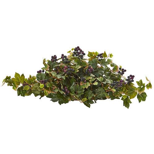 """33"""" Grape Leaf Artificial Ledge Plant"""