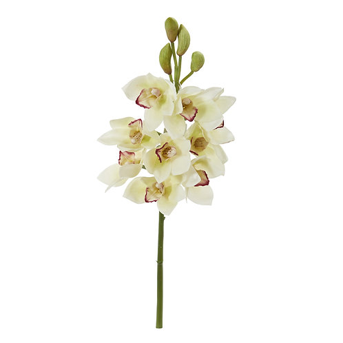 "20"" Cymbidium Orchid Artificial Flower (Set of 4)"