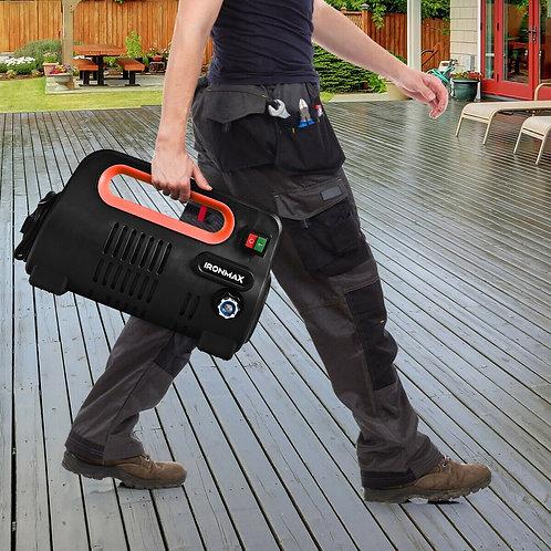 1800 PSI Portable Electric High Pressure Washer 1.96 GPM 1800 W-Orange