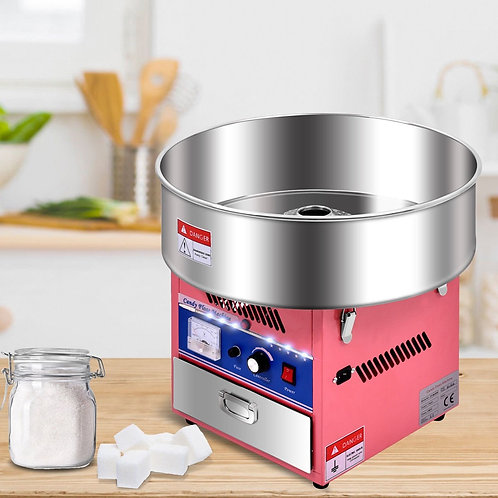 Pink Electric Cotton Candy Machine
