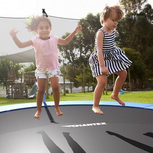 15 FT Trampoline Combo Bounce Jump Safety Enclosure Net