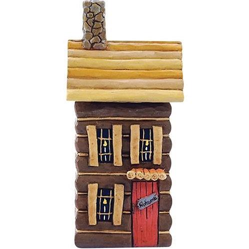 Resin Log Cabin (Pack of 2)