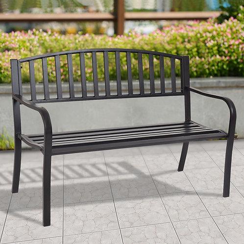 "50"" Patio Garden Bench Park Yard Outdoor Furniture"
