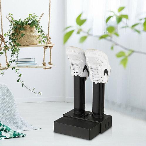 2-Shoe Portable Adjustable Electric Shoe Dryer withTimer