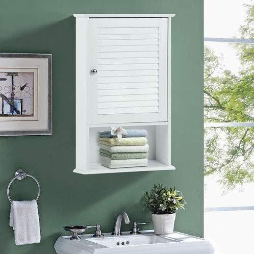 "27.5"" H Wall Hanging Bathroom Storage Cabinet"