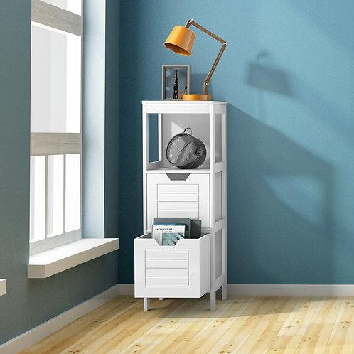 Floor Cabinet Multifunction Storage Rack Stand Organizer