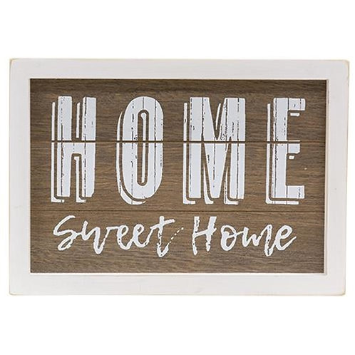 Pack of 2 *Home Sweet Home Framed Sign w/ Easel