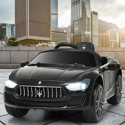 12 V Remote Control Maserati Licensed Kids Ride on Car-Black