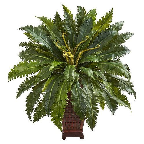 Marginatum Artificial Plant in Decorative Planter