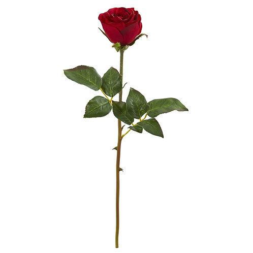"20"" Rose Artificial Bud Flower (Set of 6)"